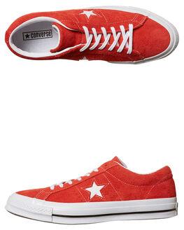 RED MENS FOOTWEAR CONVERSE SNEAKERS - 158434RED