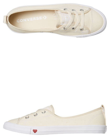 Converse All Star Ballet Lace Womens Shoe - Natural  5f49513fe