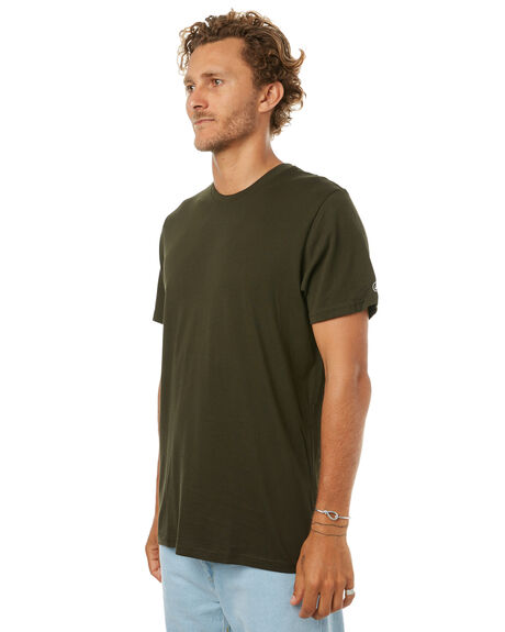 DARK GREEN MENS CLOTHING VOLCOM TEES - A5011530DGRN