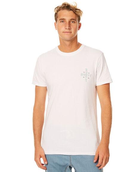 WHITE MENS CLOTHING RUSTY TEES - TTM1859WHT