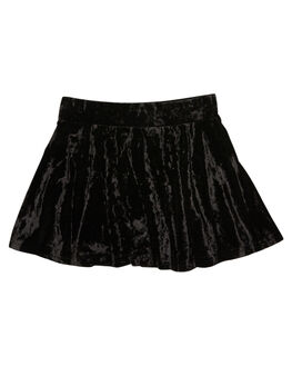 BLACK KIDS GIRLS LITTLE LORDS SHORTS + SKIRTS - AW19306BLK