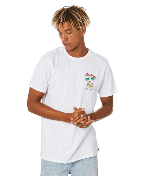 WHITE MENS CLOTHING SWELL TEES - S5204008WHITE