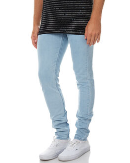 STONE WASH MENS CLOTHING ASSEMBLY JEANS - AND-1580STNWS
