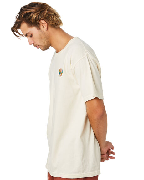 ANTIQUE WHITE MENS CLOTHING BUSINESS AND PLEASURE CO TEES - BPS-CIN-ANT-WHT