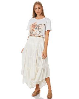 WHITE WOMENS CLOTHING MLM LABEL TEES - KINGDOMTEEDWHT