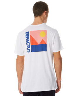 WHITE MENS CLOTHING DEPACTUS TEES - D5184004WHITE