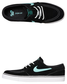 BLACK MINT MENS FOOTWEAR NIKE SKATE SHOES - 833603-001