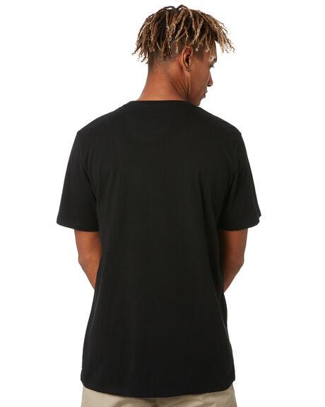 BLACK MENS CLOTHING DEPACTUS TEES - D5211005BLACK