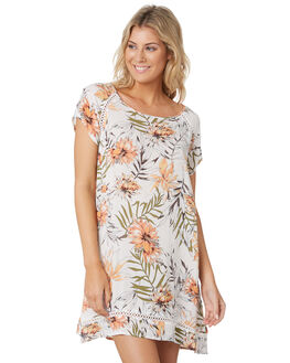 WHITE WOMENS CLOTHING RIP CURL DRESSES - GDRIF11000