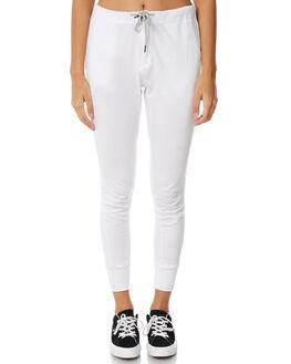 WHITE WOMENS CLOTHING RUSTY PANTS - PAL1041WHT