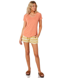 SURFBOARD YELLOW WOMENS CLOTHING PATAGONIA SHORTS - 57030TSSY