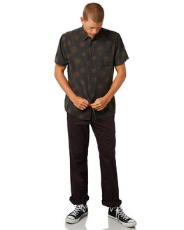 COFFEE MENS CLOTHING AFENDS SHIRTS - M184204COFFE