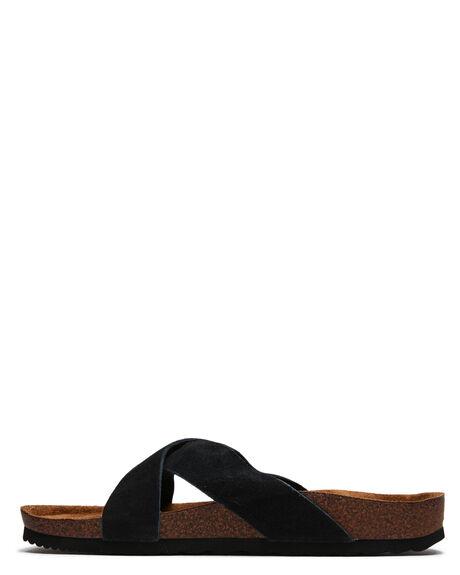 BLACK WOMENS FOOTWEAR RIP CURL SLIDES - TGTC510090