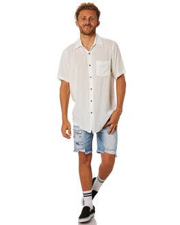 WHITE MENS CLOTHING THE PEOPLE VS SHIRTS - SSSTEVIE-WHT