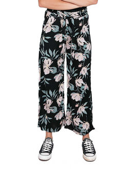 ANTHRACITE TROPIC WOMENS CLOTHING ROXY PANTS - ERJNP03305-XKMW
