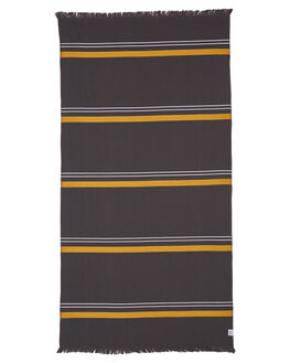 CHARCOAL MENS ACCESSORIES MAYDE TOWELS - 19ESPCHACHA