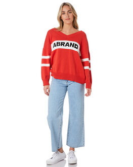BOMBAY RED WOMENS CLOTHING A.BRAND KNITS + CARDIGANS - 71758-5136