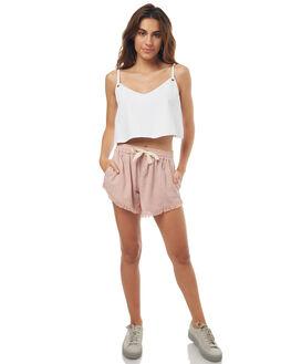 PALE MAUVE WOMENS CLOTHING BILLABONG SHORTS - 6572271PAL