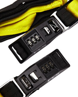 BLACK YELLOW BOARDSPORTS SURF FCS BOARD RACKS - 1905-550-00D