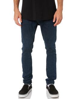 BLACK OCEAN MENS CLOTHING NUDIE JEANS CO JEANS - 113185BLKO