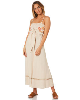 NATURAL WOMENS CLOTHING SOMEDAYS LOVIN PLAYSUITS + OVERALLS - IL18F2471NAT