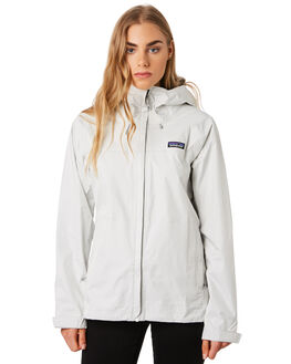 BIRCH WHITE WOMENS CLOTHING PATAGONIA JACKETS - 83807BCW