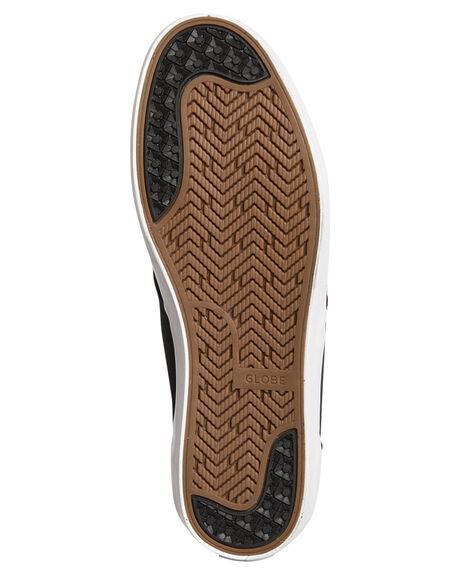 BLACK WOODSMOKE MENS FOOTWEAR GLOBE SKATE SHOES - GBWILLOW-20331