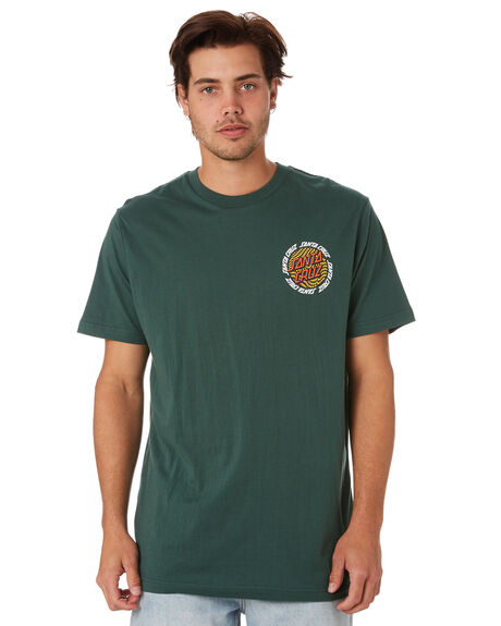 FOREST MENS CLOTHING SANTA CRUZ TEES - SC-MTC9340FORST