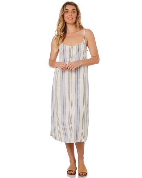 BLUE WOMENS CLOTHING RIP CURL DRESSES - GDRHB10070