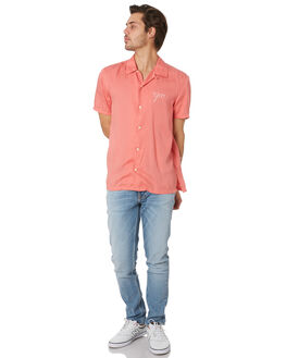 PINK MENS CLOTHING NUDIE JEANS CO SHIRTS - 140640PINK