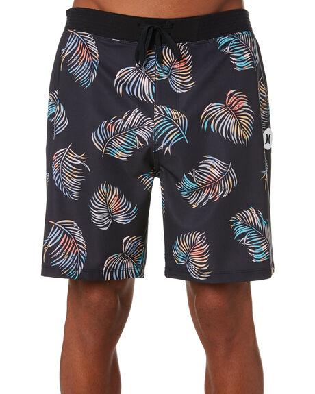 BLACK MENS CLOTHING HURLEY BOARDSHORTS - CQ8715010