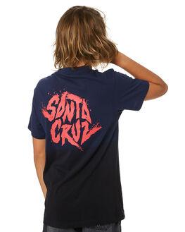 OLD NAVY DIP DYE KIDS BOYS SANTA CRUZ TOPS - SC-YTA0336ONDD