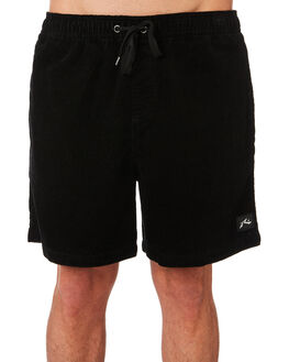 BLACK MENS CLOTHING RUSTY SHORTS - WKM0953BLK