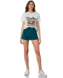 MULTI WOMENS CLOTHING WRANGLER TEES - W-951628-717MUL
