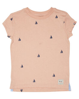 PEACH NAVY KIDS TODDLER BOYS ROOKIE BY THE ACADEMY BRAND TOPS - R19S473PCHN