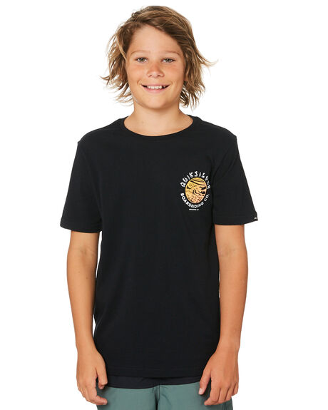 BLACK KIDS BOYS QUIKSILVER TOPS - EQBZT03847KVJ0