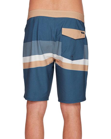 MOODY BLUE MENS CLOTHING RVCA BOARDSHORTS - RV-R305413-MDY