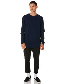 DIRTY DENIM MENS CLOTHING BANKS JUMPERS - WFL0171DDN