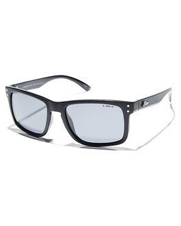 TWIN BLACK MENS ACCESSORIES LIIVE VISION SUNGLASSES - LI00355TWIN