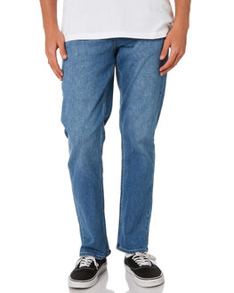 WORN BLUE MENS CLOTHING RIDERS BY LEE JEANS - R-501054-730WBLU