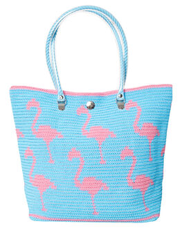 SKY BLUE WOMENS ACCESSORIES SKIPPING GIRL BAGS - FLAMINGOCRRYSKY