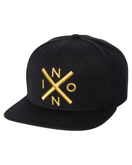 BLACK GOLD MENS ACCESSORIES NIXON HEADWEAR - C2066010