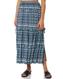 SLATE BLUE WOMENS CLOTHING RIP CURL SKIRTS - GSKAB91115