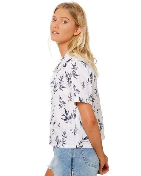 WHITE OUTLET WOMENS RPM FASHION TOPS - 8SWT12AWHT