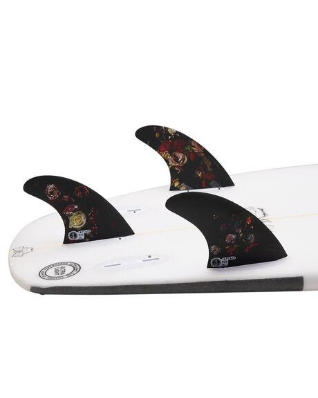 BLACK BOARDSPORTS SURF CAPTAIN FIN CO. FINS - CFF441807BLK
