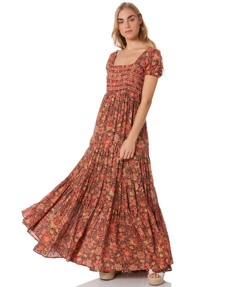 BLACK WOMENS CLOTHING FREE PEOPLE DRESSES - OB10866750098