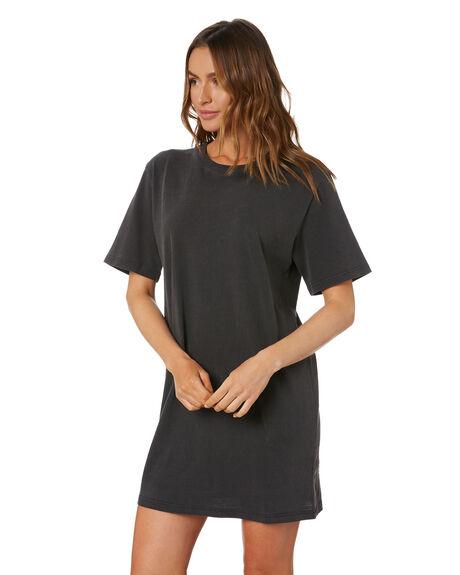 VINTAGE BLACK WOMENS CLOTHING SWELL DRESSES - S8211443VINBK