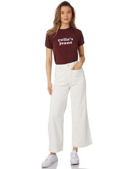 VANILLA WOMENS CLOTHING ROLLAS PANTS - 12928-875