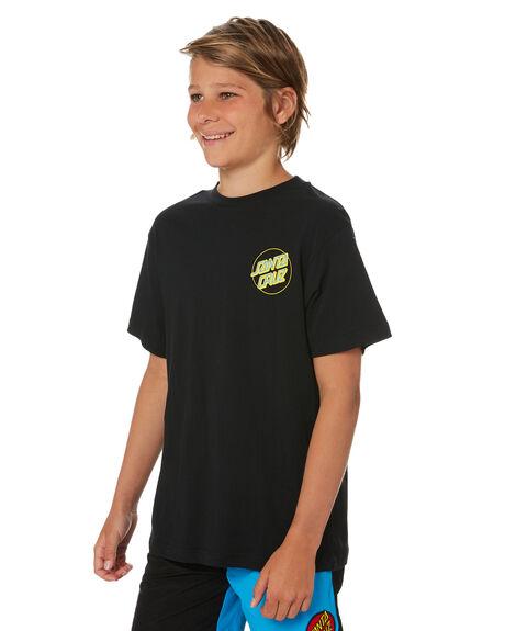 BLACK KIDS BOYS SANTA CRUZ TOPS - SC-YTD0473BLK