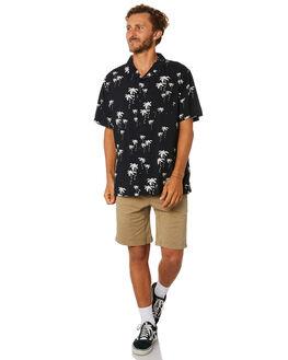 BLACK MENS CLOTHING SWELL SHIRTS - S5193167BLACK